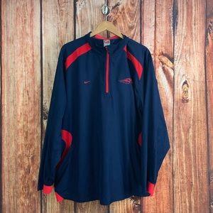 Nike Storm Fit Sea Hawks Half Zip Pullover XXL